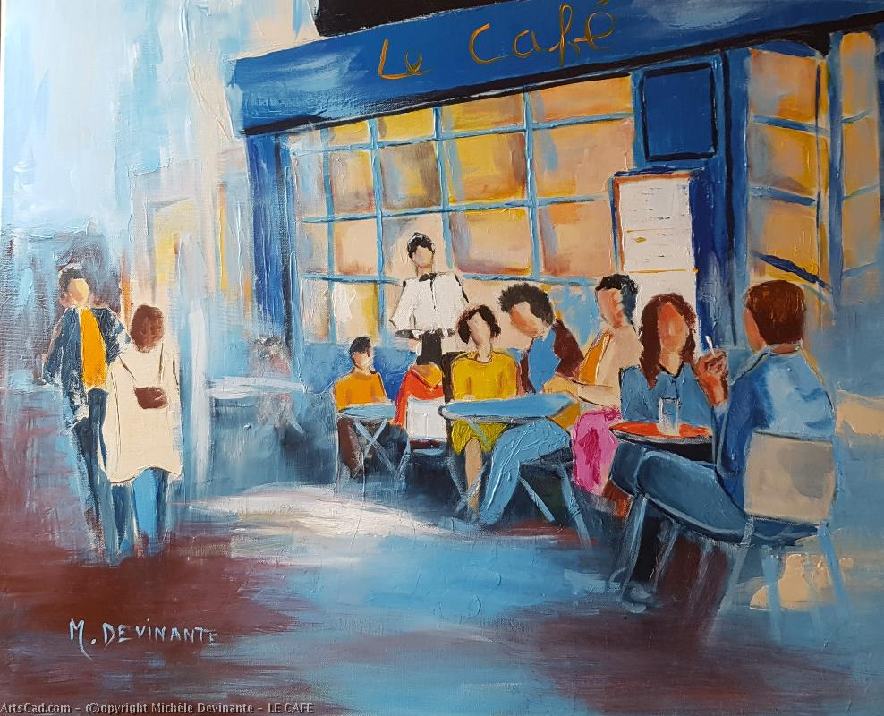 Artwork >> Michèle Devinante >> The Cafe