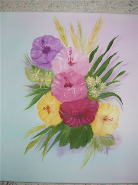 Artwork >> Josette Pascual >> The Bouquet