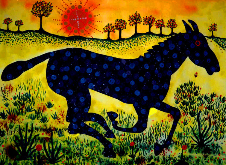 Artwork >> Tanja Henn >> Horse