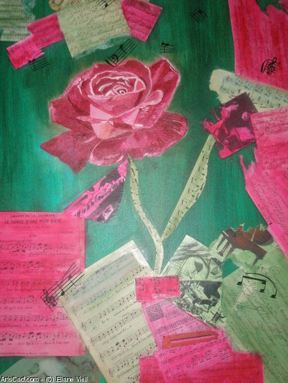 Artwork >> Eliane Vieil >> Pink Rose
