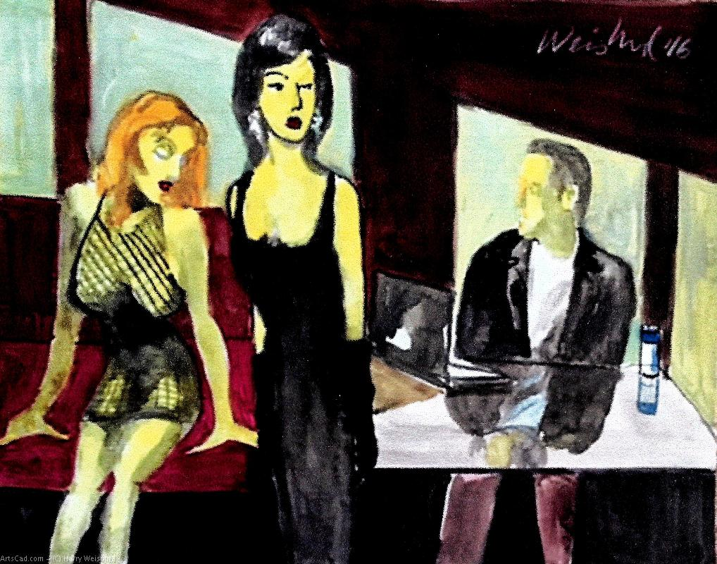 Artwork >> Harry Weisburd >> The Other Woman