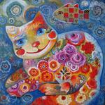Oxana Zaika - cat from  there  chance at