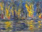Manuel Soares - the fiery at the  lake in