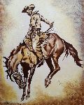 Loraine Yaffe - Bucking Horse after Remington