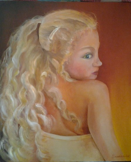 Artwork >> Joelle Beuscart >> Granddaughter