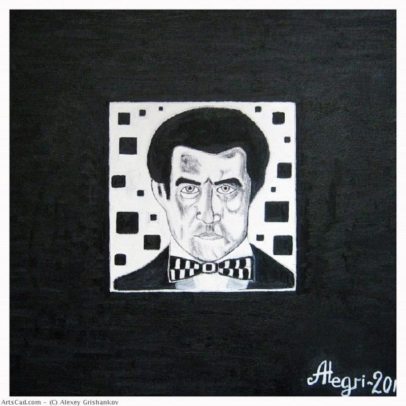 Artwork >> Alexey Grishankov >> Kazimir Malevich in your Black square