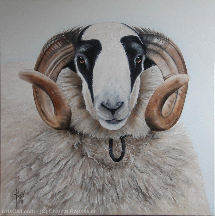 Artwork >> Chantal Rousselet >> The ram