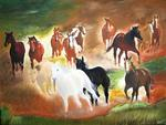 Bernard Aguila - the horses