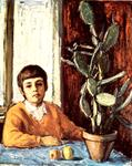 Dionisii Donchev Art - Boy with cactus