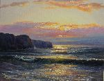 Paul Narbutt - Sunset on the rocks