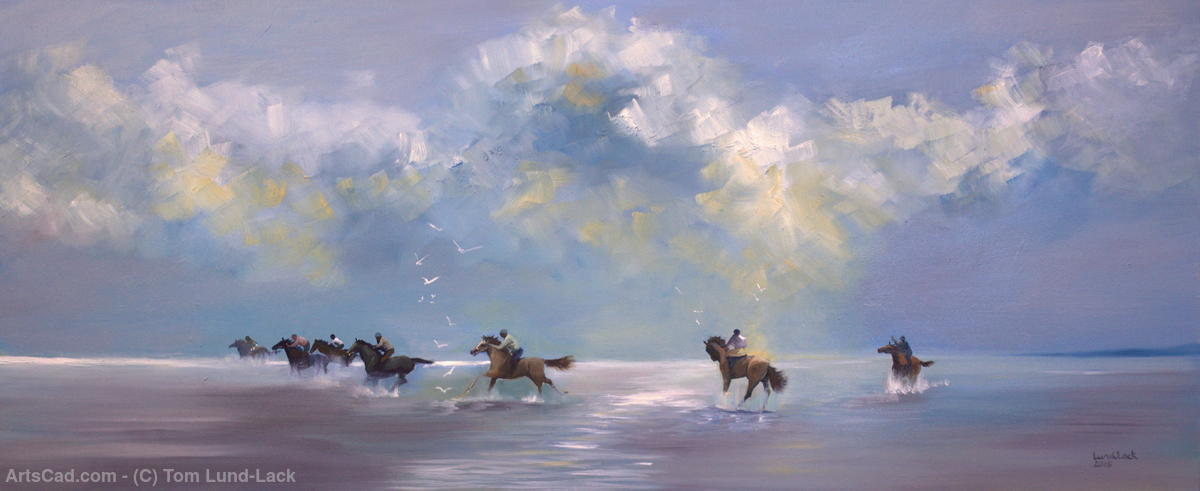 Artwork >> Tom Lund-Lack >> Holkham Riders