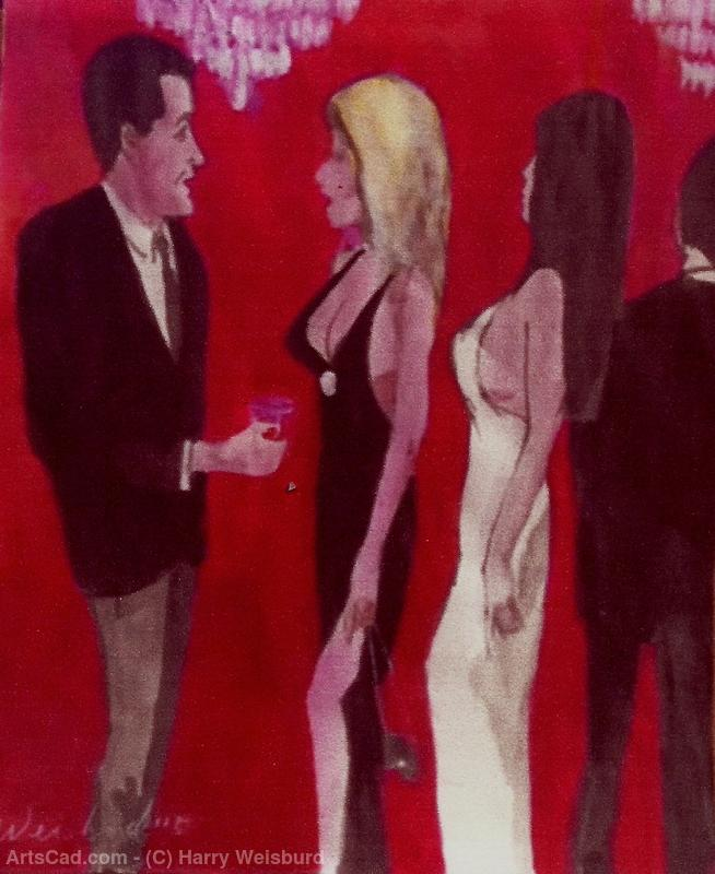 Artwork >> Harry Weisburd >> 2 WOMEN 2 MEN
