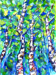 Leonard Shane - Beautiful Birch Trees