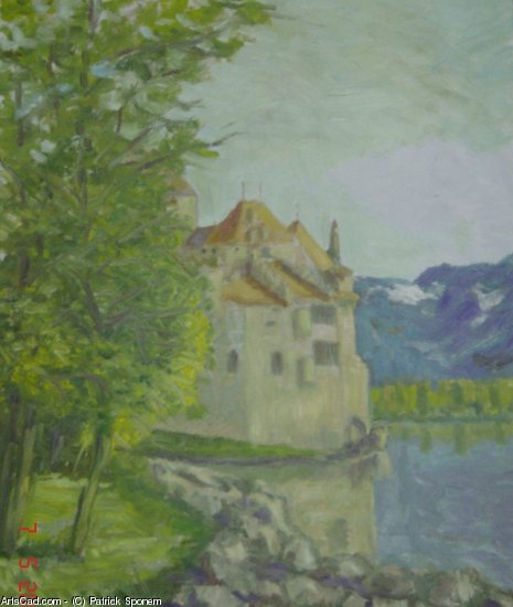 Artwork >> Patrick Sponem >> Castle of Chillon
