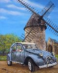 Trabaud Virginie - 2cv  up and  out the  mill  from  vendee