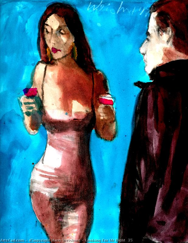 Artwork >> Harry Weisburd >> Looking For Mr Right  35