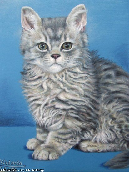 Artwork >> Arts And Dogs >> Cat Victoria