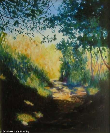 Artwork >> Bil Harley >> The path out of the woods