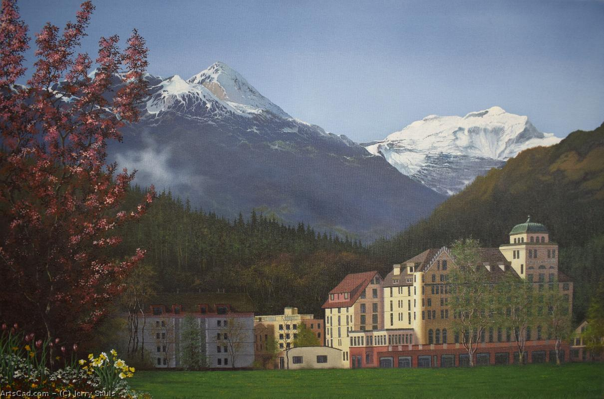 Artwork >> Jerry Sauls >> Gateway to the Alps