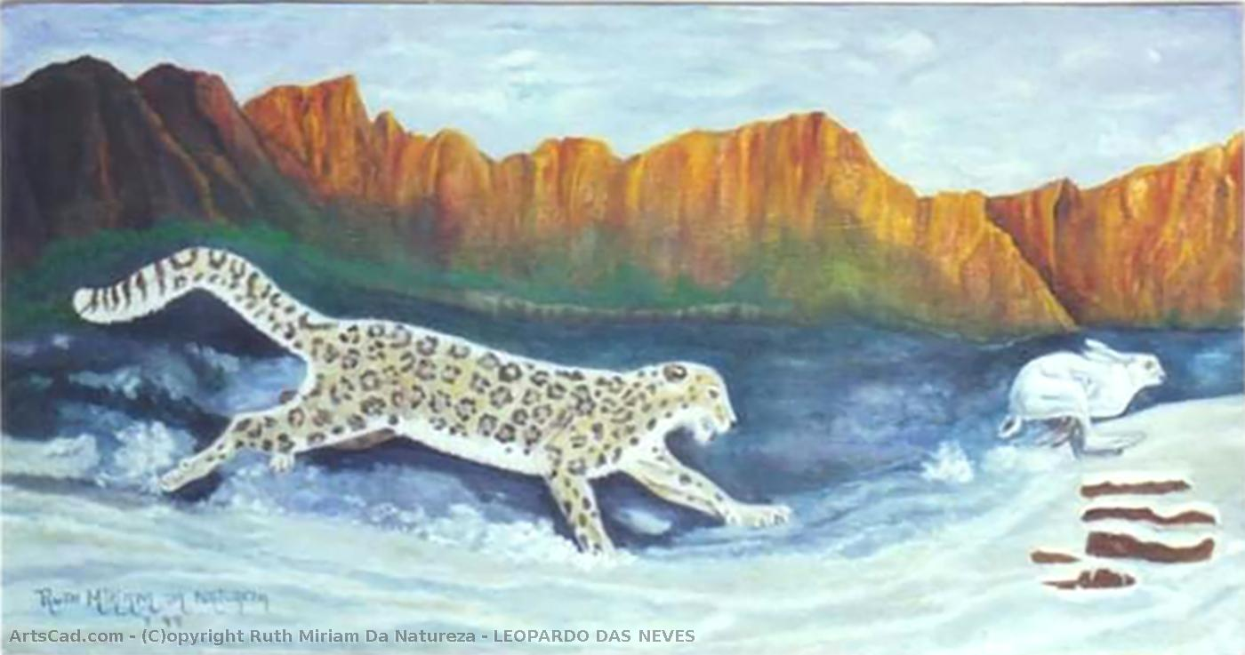 Artwork >> Ruth Miriam Da Natureza >> SNOW LEOPARD