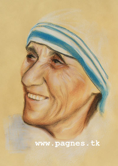 Artwork >> Agnes Preszler >> Mother Teresa