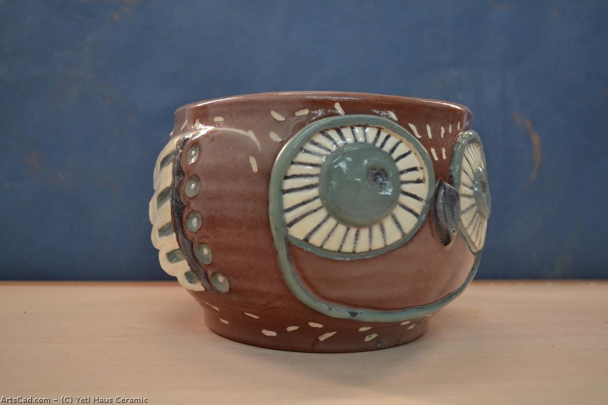 Artwork >> Yeti Haus Ceramic >> Pot for kvіtіv bird