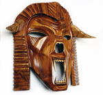 Vladislav Noxoff - Wooden mask-War Effigy