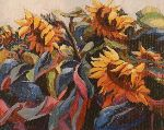 Julio Ducuron - Sunflowers it at  wind