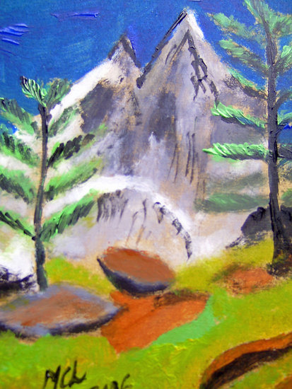 Artwork >> Marie Christine Legeay >> THE ALPS