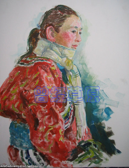 Artwork >> Chen Jiqun >> PORTRAIT