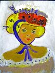 Marie Christine Legeay - WOMAN IN HAT