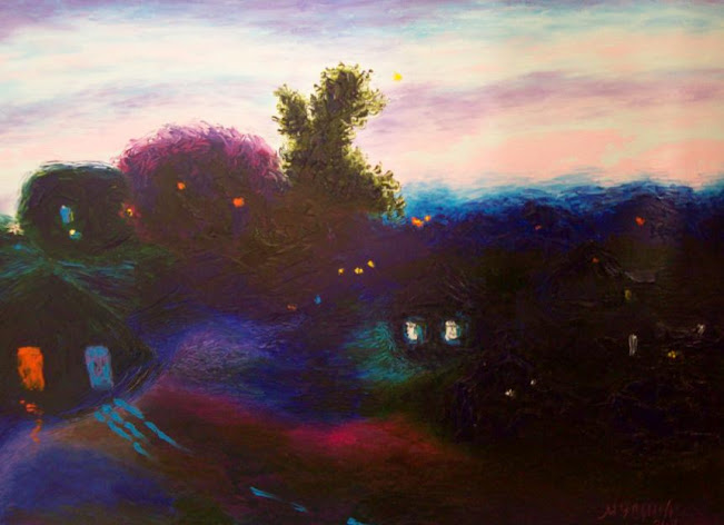 Artwork >> Artist Musina Julia >> And the night came ... And there has come night ...