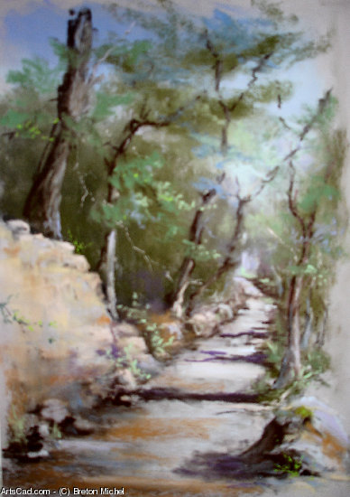 Artwork >> Breton Michel >> Along the Path