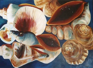 Artwork >> Mylene Jarnaud >> Subtle shellfish