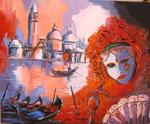 Jacky Dumergue - Venice and its Carnival