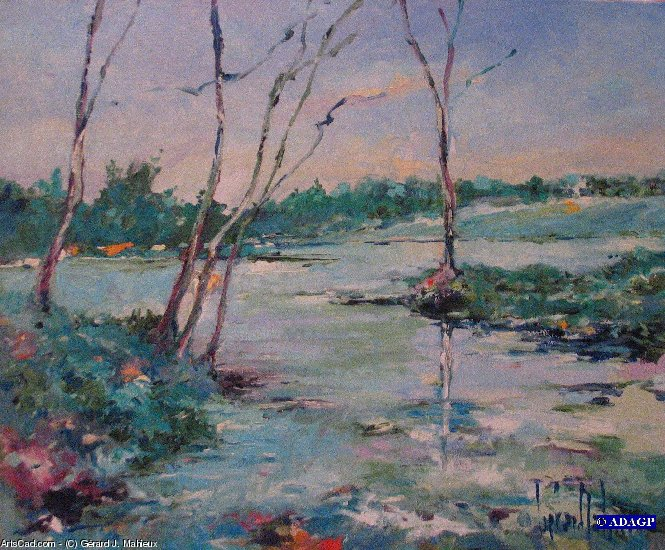 Artwork >> Gérard J. Mahieux >> THE FIELDS FLOODED