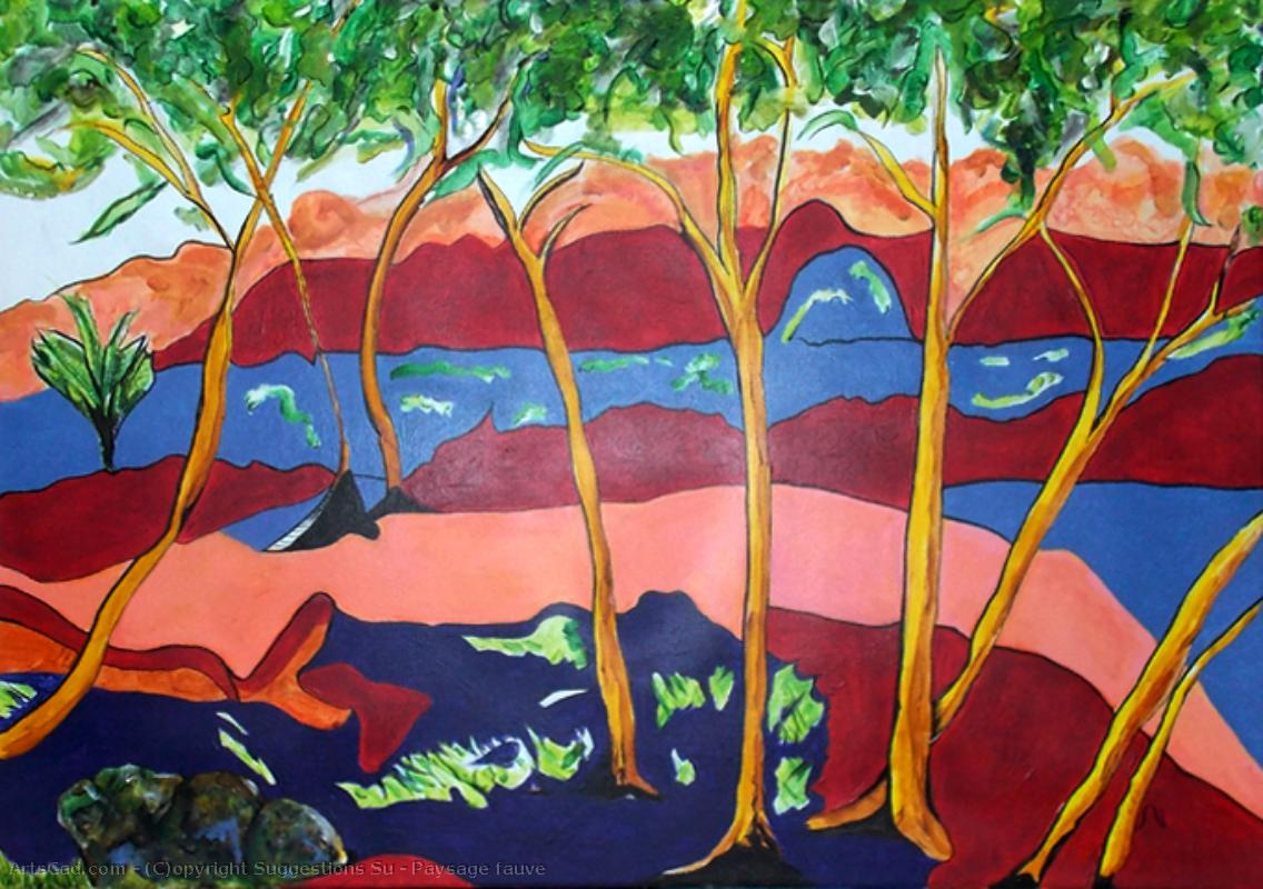 Artwork >> Suggestions Su >> Fauvist Landscape
