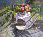 Alexey Dmitriev - On the balcony