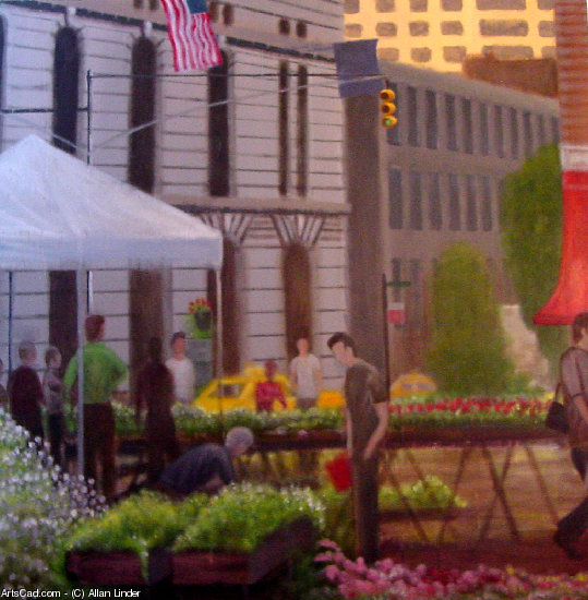 Artwork >> Allan Linder >> Union Square