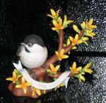 James Stow - Lenox -The Chickadee- Limited Edition-Retired Work