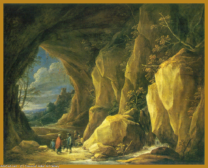 Artwork >> Classical Indian Art Gallery >> By - David Teniers the Younger - Print