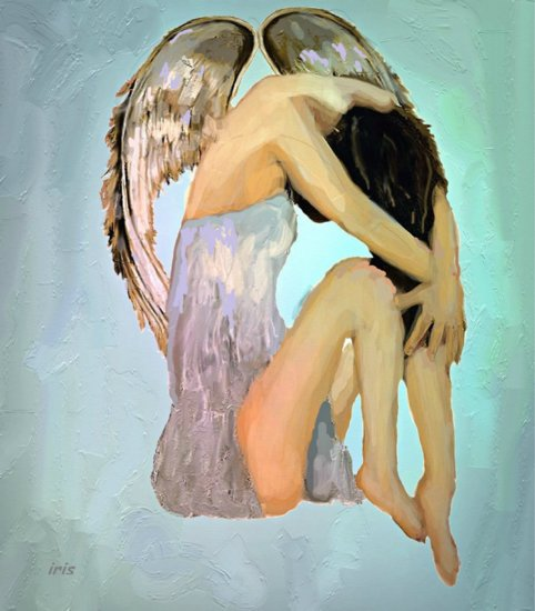Artwork >> Iris Piraino >> the angel