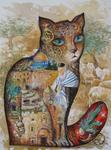 Oxana Zaika - cat Israel  SOLD.
