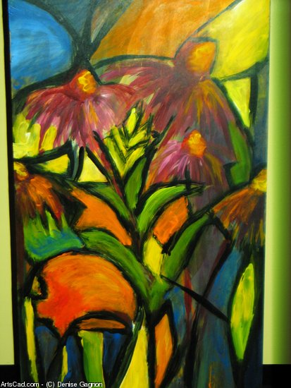 Artwork >> Denise Gagnon >> stained glass printing
