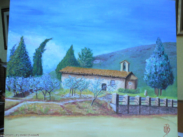Artwork >> Martine Bucciarelli >> Umbrian chapel
