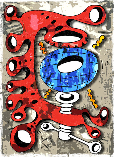 Artwork >> Kowalski Bruno >> EARTH GRIP G