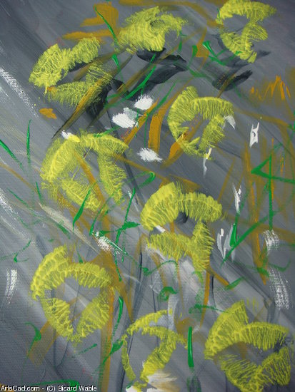 Artwork >> Bicard Wable >> Yellow Flowers