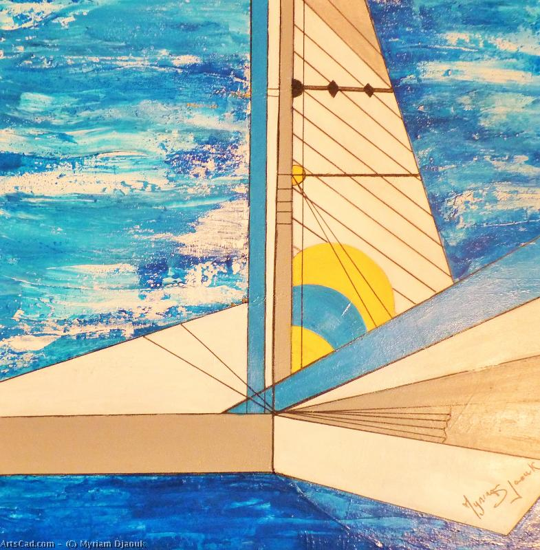 Artwork >> Myriam Djaouk >> regatta 2