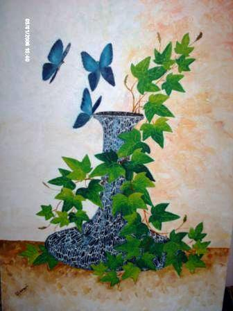 Artwork >> Announi Abdelali >> nature in the  butterflies in