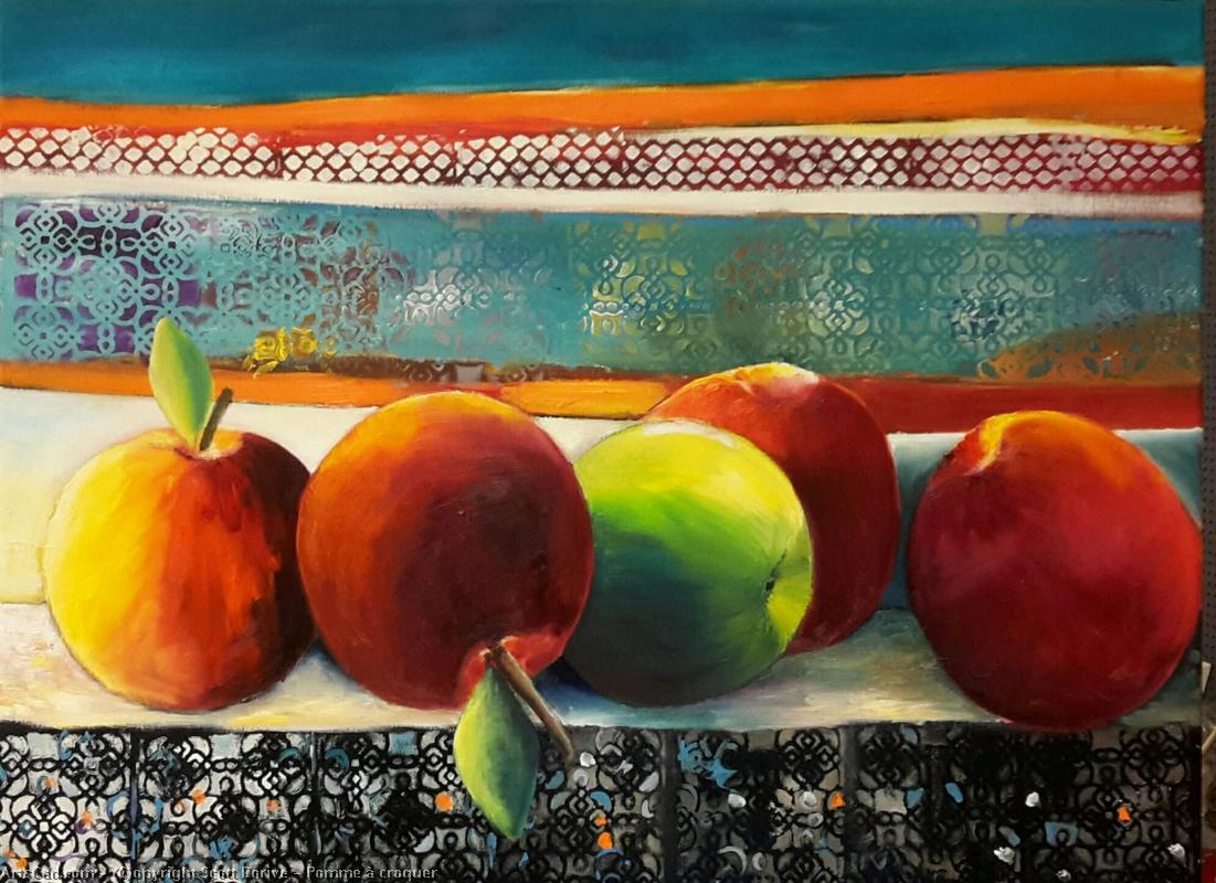 Artwork >> Scott Rorive >> apple at  Munch